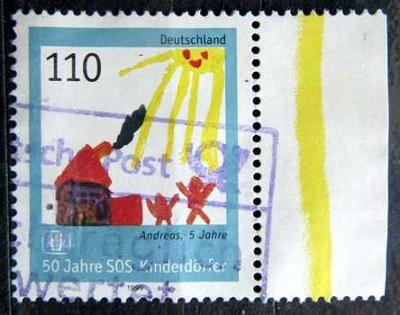 DEUTSCHLAND: MiNr.2062 Mother, Child and the House 110pf LK 1999