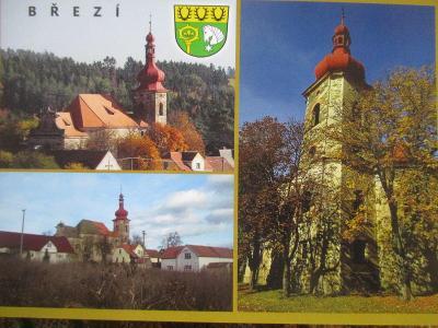 Březí Pernarec kostel  okr. Plzeň-sever
