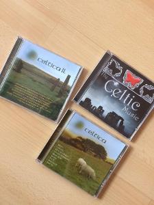 CD s keltskou hudbou 3 ks