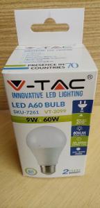Žárovka LED 9W = 60W - E27