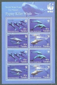 Tuvalu 2006 Fereza malá, WWF Mi# 1307-10 Bogen Kat 27€ 2096