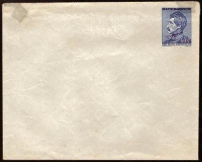 POF. COB 11 - CELINOVÁ OBÁLKA K.H. BOROVSKÝ, 1956 (S534)