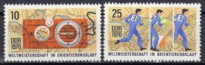 DDR 1970 **/ Mi. 1605-6 , komplet , /Z3/