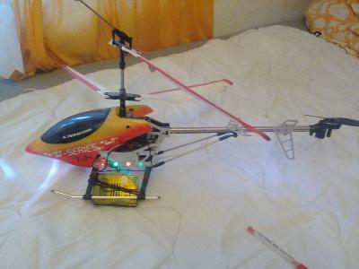 Vrtulník na dálkové ovládání T SERIES T34