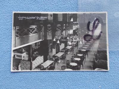 Moravská Ostrava Reál foto interiér zařízení kavárna Elektra