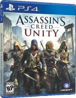 PS4 ASSASSINS CREED UNITY CZ TITULKY
