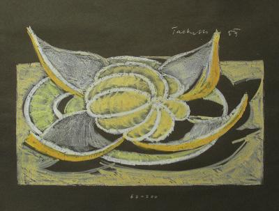 Paderlík 1959 - Orig. litografie - (K322)