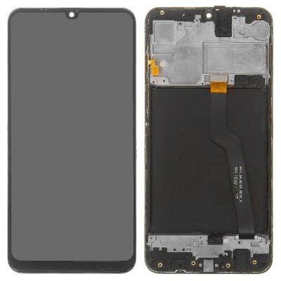 Samsung Galaxy A10 A105F, M10 M105F + Rám (Černá)