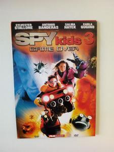 DVD, film Spy kids 3 Game over