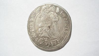 Leopold I. XV krejcar 1686 KB