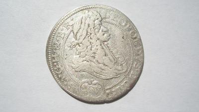 Leopold I. XV krejcar 1694 MMW - Vratislav