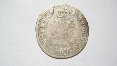 Leopold I. XV krejcar 1680 KB