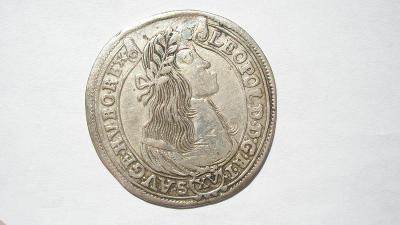 Leopold I. XV krejcar 1665 KB vzácný ročník