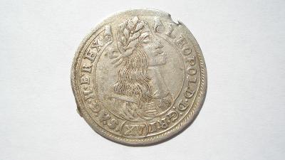 Leopold I. XV krejcar 1677 KB