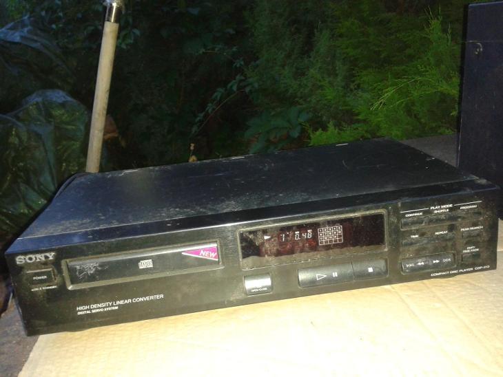 CD přehrávač SONY CDP - 213 /VIZ FOTO - TV, audio, video