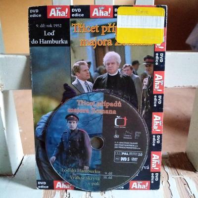 DVD 30příp.maj.Zemana-9.Loď do Hamburku,10.Vrah se skrývá v poli