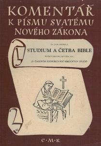 Merrel: Studium a četba Bible podle encykliky Pia XII ...., 1949