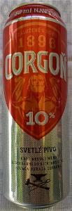 001 SR PIVO piwo bier CORGOŇ kováč Juraj 0,50+0,05 10° 3,9% prázdna