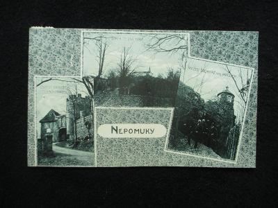 Nepomuky - okénková, pr. cca 1910