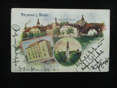 Třešť - okénková, pr. cca 1900