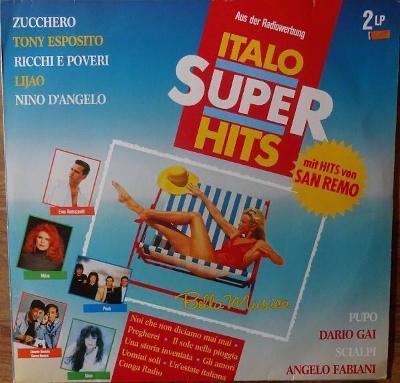 2LP- VA- ITALO SUPER HITS - Best Of Italo Hits