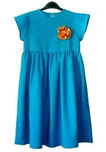Společenské dívčí šaty, vel. 6 - 7 let