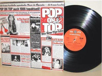 LP-VA- POP ON TOP vol.1 - Top Hits´1986