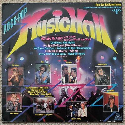 LP-VA- Rock Pop Music Hall - Top Hits´1985 ARIOLA Rec.