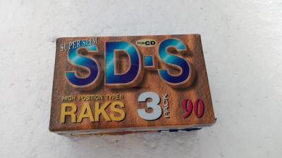 RAKS SD-S 90 / For CD / High Position / IEC II-TypeII / 3 PACK