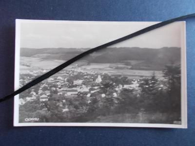 Nový Jičín Neu Titschein Odrau Odry celkový pohled panorama reál foto