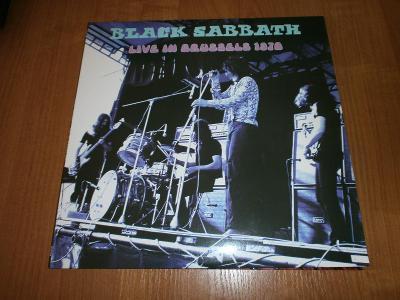 LP BLACK SABBATH : Brusel 1970  /nové,rare/