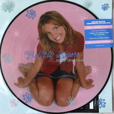 LP- BRITNEY SPEARS -Baby One More Time (album) Picture LP Limited NOVÉ