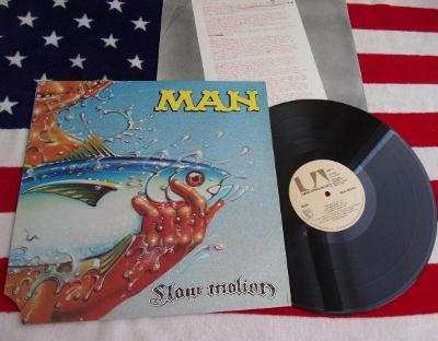 💥 LP: MAN - SLOW MOTION, deska jako nová, 1press USA 1974