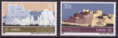 Malta 1983 Evropa CEPT Mi# 680-81 Kat 2.50€ 1671