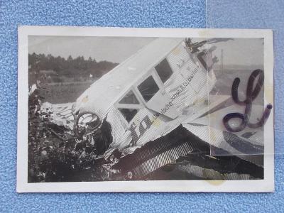 Zlín letadlo Junkers F 13   letecká katastrofa neštěstí smrt Jan Bata