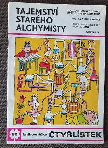 ČTYŘLÍSTEK Č. 80 - TAJEMSTVÍ STARÉHO ALCHYMISTY - LUXUS