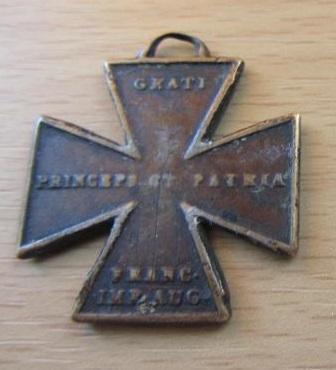 Rakousko Pamětní kříže z války 1813-1814