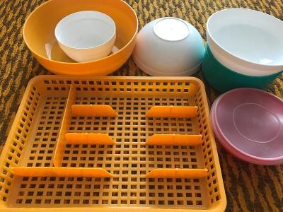 Misky / příborník plast - kuchyňské vybavení
