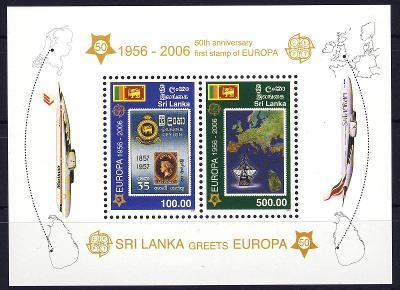 Sri Lanka 2006 **/ Mi. Block 102 , komplet , Evropa CEPT , /Z4/