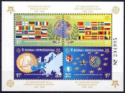 Bosna a Hercegovin 2005 **/ Mi. Block 27A , komplet , Evropa CEPT,/Z4/