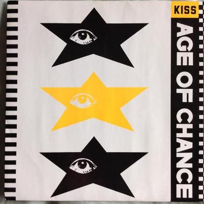 """AGE of CHANCE - KISS  7""""SP"""