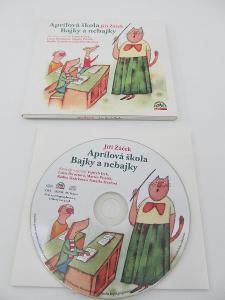 CD Aprílová škola / Bajky a nebajky Jiří Žáček