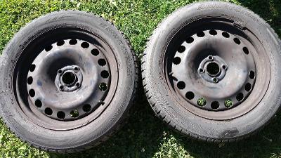 Komplet 2  kola, ráfek + pneu zimní 205/55 /R16