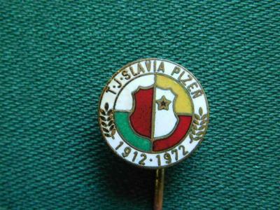 60 Let - 1912 - 1972 - T.J. Slavia Plzeň