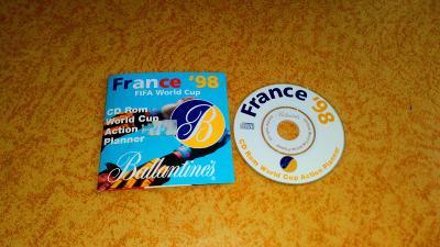 8cm CD-ROM France 98 - reklamní CD Ballantines