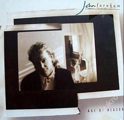 LP - JOHN FARNHAM - Age Of Reason´1988   TOP STAV