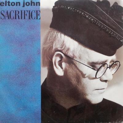 "ELTON JOHN - Sacrifice (7""singl)´1989 TOP HIT"