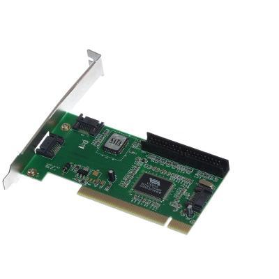 NOVÝ interní řadič 3x SATA 1x IDE do PCI slotu
