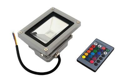 16 LED reflektor RGB - 10W + dárek