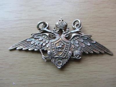 Rusko Odznak Absolvent 6. moskevské školy praporčíků, 1916, stříbro